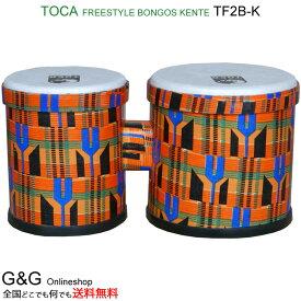 """TOCA(トカ) TF2B-K FREESTYLE BONGO 5""""+6""""のヘッド フリースタイル ボンゴ【smtb-KD】【RCP】"""
