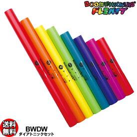 ドレミパイプ Boomwhackers BWDW ダイアトニック 8本セット ドレミファソラシドの基本セット ピアノの白鍵の音 ブームワッカー