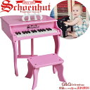 シェーンハット ファンシー ベイビー グランド 30鍵盤 Schoenhut 3005P Fancy Baby Grand トイピアノ カワイイ おもちゃのピアノ ピンク グランドピアノ
