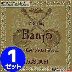 【ポイント10倍!18日まで!】Aria AGS-100BJ バンジョー弦