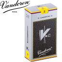 VANDOREN(バンドレン)リード E♭クラリネット用 V12 銀箱 3(10枚セット):バンドーレン エスクラリネット用 CR613…