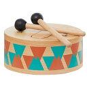 I'M TOY IM-29322 知育玩具 木のおもちゃ 太鼓 ドラム 楽器 打楽器 音楽 出産祝い エデュテ 音の出るおもちゃ 1歳 木…