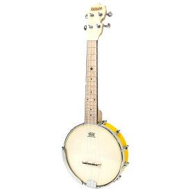 試奏動画で音色が聴ける♪かわいいポップカラー バンジョーウクレレ マァーマァ イエロー MaAmAa MBU-PO YL Banjo Ukulele Pop Color Series コンサートサイズ YELLOW spsale