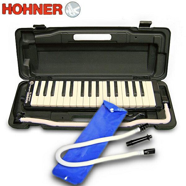 HOHNER(ホーナー) 鍵盤ハーモニカ Melodica/ メロディカ Student32鍵【BLACK=黒】+KIKUTANI「MM-P1」セット 【送料無料】【smtb-KD】【RCP】 【楽ギフ_包装選択】【楽ギフ_のし宛書】:-p2