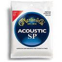 MARTIN(マーチン弦) 「MSP4100×3セット」ライト・ゲージ  SP 92/8 Phosphor Bronze Light Acoustic Guit...