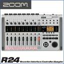 ZOOM(ズーム) R24 Recorder:Interface:Controller: Sampler 24トラックMTRとして、オーディオI/Fとして、DA...