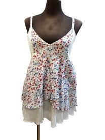 インド製エスニックキャミソールコットン小花プリントエスニック衣料エスニックアジアンファッション