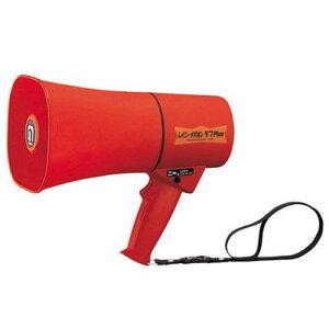 レイニーメガホンタフPlus TS-633R(拡声器、耐衝撃性、防塵、防水、耐水)サイレン音付トランジスターメガホン