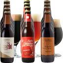 【クリスマス限定】フレーバー クラフトビール 3種12本 飲み比べセット(アップルシナモンエール、バニラのチョコビール、黒糖スイートスタウト)詰め合わせ【あす楽】