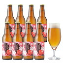 <春限定>本物の桜の花でつくったクラフトビール【サンクトガーレンさくら8本】飲む桜餅のような地ビール【あす楽】【本州送料無料】結婚・出産 内祝い各種のし、ホワイトデー・誕生日シール対応