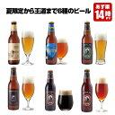 クラフトビール 6種6本 飲み比べセット<夏限定の湘南ゴールド、世界一IPAビール入>【地ビール 詰め合わせ】【あす楽】お中元・暑中見…