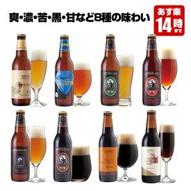 クラフトビール 8種8本 飲み比べセット <湘南ゴールド、世界一IPAビール、チョコビール入> 【地ビール 詰め合わせ】【あす楽】お中元、暑中・残暑見舞い、結婚・出産内祝い各種のし、誕生日ギフトプレゼントシール対応