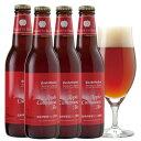 アップルシナモンエール 4本 詰め合わせ セット <焼きりんご500個を使用したフルーツビール クラフトビール>【秋冬限定】結婚・出産内祝い各種のし、誕生日ギフトプレゼントシール対応 地ビール
