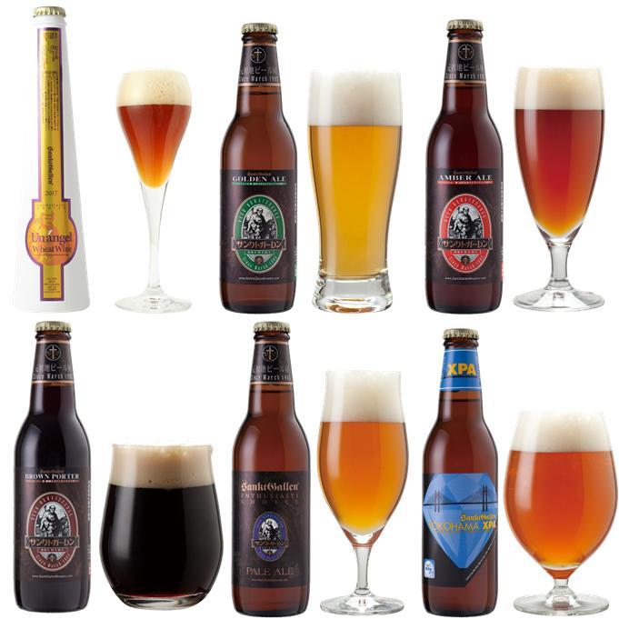 小麦のワイン入 クラフトビール6種6本飲み比べセット<送料込>