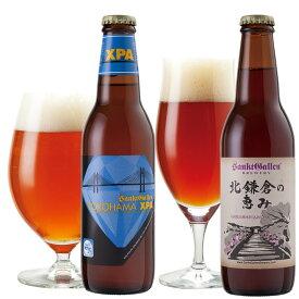 【神奈川地ビールギフト】横浜と北鎌倉の天然水仕込みクラフトビール飲み比べセット(2種2本詰め合わせ)【あす楽:14時〆切】【本州送料無料】出産内祝い・結婚内祝など各種のし、誕生日ギフトシール対応