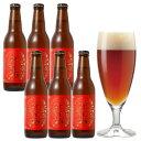 サンクトガーレン【 賀正ビール 6本 詰め合わせ [2020 干支ラベル ねずみ] 】琥珀色のクラフトビール <お歳暮・内祝いのし名入れ可。クリスマス・誕生日ギフトシール対応> あす楽対応