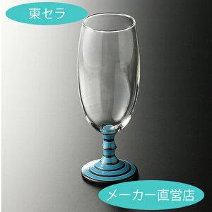 ビアグラス 【有田浪漫ビールグラス ボーダー(ブルー)】有田焼 波佐見焼 ギフト ビアグラス ギフト おしゃれ 贈り物 プレゼント おうち時間 ペアグラス