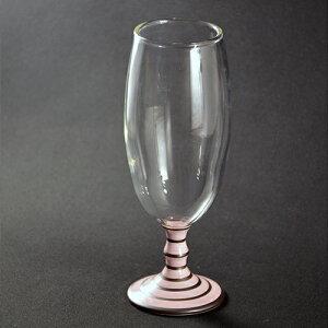 ビアグラス 【有田浪漫ビールグラス ボーダー(ピンク)】有田焼 波佐見焼 ギフト ビアグラス ギフト おしゃれ 贈り物 プレゼント おうち時間 ペアグラス