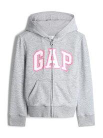【SALE/24%OFF】(K)Gapロゴパーカー (キッズ) GAP ギャップ カットソー キッズカットソー グレー ピンク【RBA_E】【送料無料】[Rakuten Fashion]