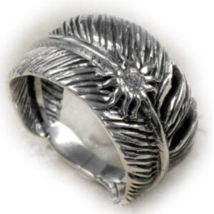 シルバーリング メンズ 指輪 フェザー Silver925 インディアン リング SV925 STERLINGSILVER スターリングシルバー Ring 銀 シルバーアクセサリー