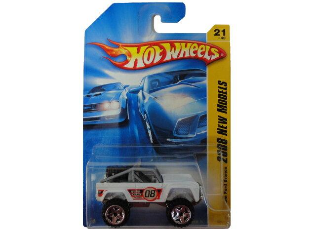 HotWHeeLs Custom Ford Bronco ホットウィールズ ミニカー カスタム フォード ブロンコ アーリー
