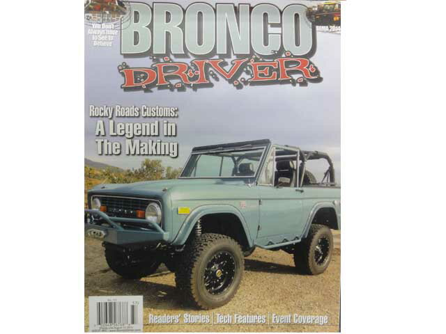 BRONCO DRIVER magazine #65 ブロンコ ドライバー