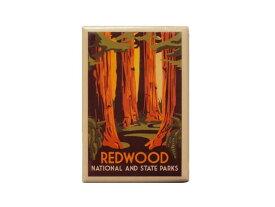 REDWOOD NATIONAL AND STATE PARKS MAGNET マグネットレッドウッド国立・州立公園