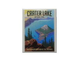 CRATER LAKE NATIONAL PARK MAGNET クレーターレイク国立公園 マグネット