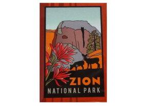 ZION NATIONAL PARK マグネットです。