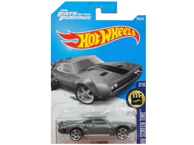 HotWHeeLs HW SCREEN TIME THE FATE OF THE FURIOUS ICE CHARGER ホットウィール ミニカー