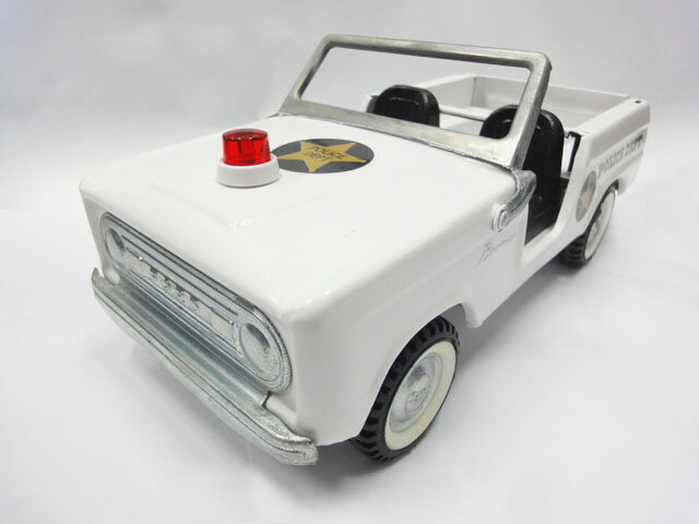 Nylint FORD BRONCO POLICE DEPT フォード ブロンコ ナイリント ホワイト ポリスカー