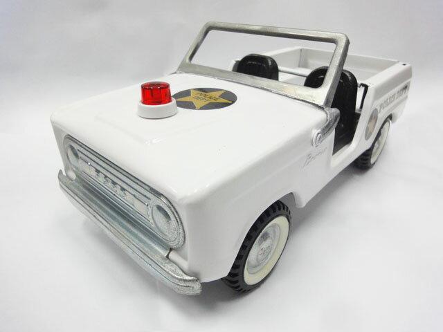 Nylint FORD BRONCO POLICE DEPT フォード ブロンコ ナイリント ホワイト ポリスカー