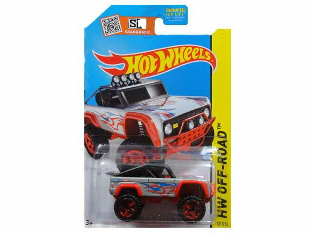 HotWHeeLs HW OFF-ROAD CUSTOM FORD BRONCO ホットウィールズ ミニカー カスタム フォード ブロンコ