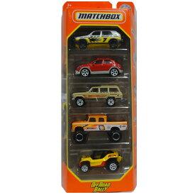MATCHBOX OFF ROAD RALLY 5pack マッチボックス ミニカー 5パック