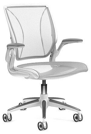 Humanscale ヒューマンスケール パソコンチェア PCチェア オフィスチェア ビジネスチェア デスクチェア メッシュチェア 事務用チェア 事務椅子 事務チェア スタイリッシュ メッシュ チェア チェアー 椅子 イス いす chair 白 ホワイト W16WN10N01