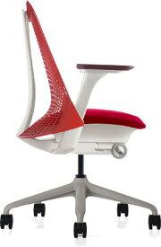 ハーマンミラー セイルチェア セイル パソコンチェア パソコンチェアー PCチェア オフィスチェア ビジネスチェア 学習椅子 事務椅子 事務チェア 椅子 いす イス チェア チェアー 身体を支える 小柄な方 前傾姿勢 肘付き