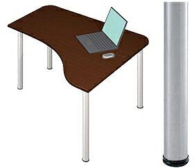 デスクD2 天板Dタイプ (Garage ガラージ シンプル L字型 l字 パソコンデスク PCデスク ワークデスク 勉強机 学習机 学習デスク 勉強机 事務机 オフィス 事務デスク 仕事用デスク 使いやすい 高校生 中学生 デスク 机 desk 仕事用机) ゲーミングデスク