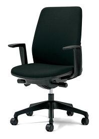 PLUS プラス カイルチェア Kaileチェア パソコンチェア PCチェア オフィスチェア デスクチェア 事務イス 事務椅子 学習チェア 勉強椅子 シンプル 椅子 イス チェア chair キャスター付き 疲れにくい ハイバック L型肘