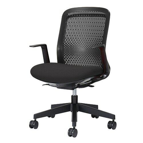 PLUS プラス Try トライ パソコンチェア PCチェア オフィスチェア ワークチェア ビジネスチェア メッシュチェア メッシュチェアー フィット メッシュ フィット 放熱 チェア チェアー 椅子 いす イス ローバック 肘付き
