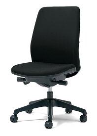 PLUS プラス カイルチェア Kaileチェア パソコンチェア PCチェア オフィスチェア デスクチェア 事務イス 事務椅子 学習チェア 勉強椅子 シンプル 椅子 イス チェア chair キャスター付き 疲れにくい ハイバック 肘なし