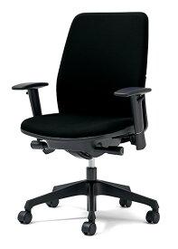 PLUS プラス カイルチェア Kaileチェア パソコンチェア PCチェア オフィスチェア デスクチェア 事務イス 事務椅子 学習チェア 勉強椅子 シンプル 椅子 イス チェア chair キャスター付き 疲れにくい ハイバック アジャスト肘