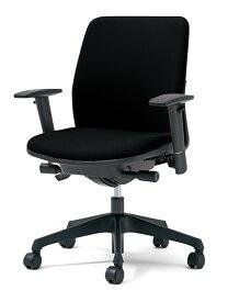 PLUS プラス カイルチェア Kaileチェア パソコンチェア PCチェア オフィスチェア デスクチェア 事務イス 事務椅子 学習チェア 勉強椅子 シンプル 椅子 イス チェア chair キャスター付き 疲れにくい ローバック アジャスト肘