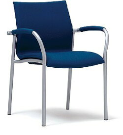PLUS プラス ミーティングチェア チェア 会議用チェア 4本脚 スタンダード シンプル 会議室 ミーティングルーム ミーティング 会議 部屋 ルーム 打ち合わせ 肘つき 肘付き 椅子 いす イス chair スタッキング
