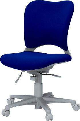 パソコンチェアオーバルチェアPLUSプラスGarage前傾ポジションOC-Z03SLNブルー青