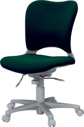 PLUSプラスオーバルチェアOCチェアパソコンチェアPCチェアオフィスチェアデスクチェア事務椅子事務イス学習チェア椅子イスチェアchair前傾姿勢キャスター付き疲れにくいハイバックカーペット用キャスター青ブルーOC-Z03SLN