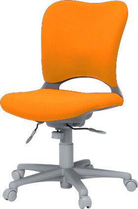 PLUSプラスオーバルチェアOCチェアパソコンチェアPCチェアオフィスチェアデスクチェア事務椅子事務イス学習チェア椅子イスチェアchair前傾姿勢キャスター付き疲れにくいハイバックカーペット用キャスター