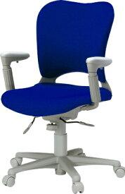 PLUS プラス オーバルチェア OCチェア パソコンチェア オフィスチェア デスクチェア 事務イス 学習チェア 椅子 イス チェア chair 前傾姿勢 キャスター付き 疲れにくい アジャスト肘付き ハイバック カーペット用キャスター 在宅