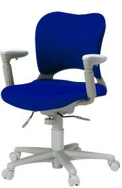 PLUS プラス オーバルチェア OCチェア パソコンチェア オフィスチェア デスクチェア 事務イス 学習チェア 椅子 イス チェア chair 前傾姿勢 キャスター付き 疲れにくい アジャスト肘付き ローバック カーペット用キャスター 在宅