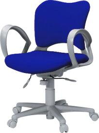 PLUS プラス オーバルチェア OCチェア パソコンチェア オフィスチェア デスクチェア 事務イス 学習チェア 椅子 イス チェア chair 前傾姿勢 キャスター付き 疲れにくい ループ肘付き ローバック カーペット用キャスター