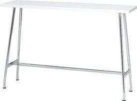 ミーティングテーブル ハイテーブル (PLUS プラス RT-2000 テーブル 机 バーテーブル 長方形型 カウンターテーブル 高い 食堂 学食 社食 飲食店 店舗 フリースペース 休憩室 オフィス 立ちテーブル 高さ1000mm 高さ100cm )